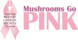 Mushrooms Go Pink